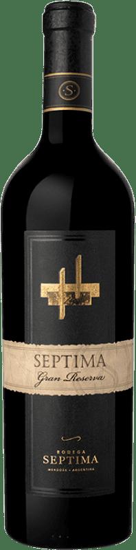19,95 € | Red wine Séptima Gran Reserva I.G. Mendoza Mendoza Argentina Cabernet Sauvignon, Malbec, Tannat Bottle 75 cl