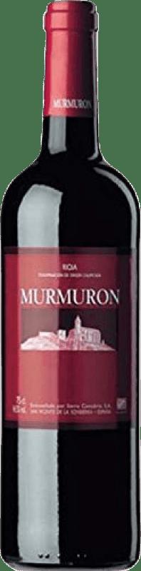 6,95 € | Red wine Sierra Cantabria Murmurón Joven D.O.Ca. Rioja The Rioja Spain Tempranillo Bottle 75 cl