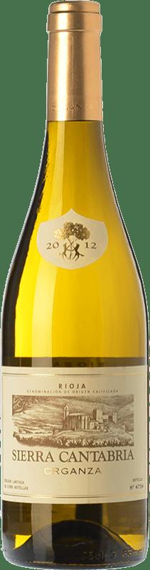 16,95 € | White wine Sierra Cantabria Organza Crianza D.O.Ca. Rioja The Rioja Spain Viura, Malvasía, Grenache White Bottle 75 cl
