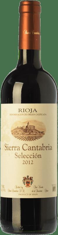 6,95 € | Red wine Sierra Cantabria Selección Joven D.O.Ca. Rioja The Rioja Spain Tempranillo Bottle 75 cl