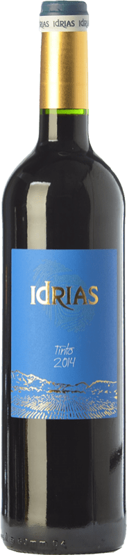 4,95 € | Red wine Sierra de Guara Idrias Tempranillo Joven Spain Tempranillo, Merlot, Cabernet Sauvignon Bottle 75 cl