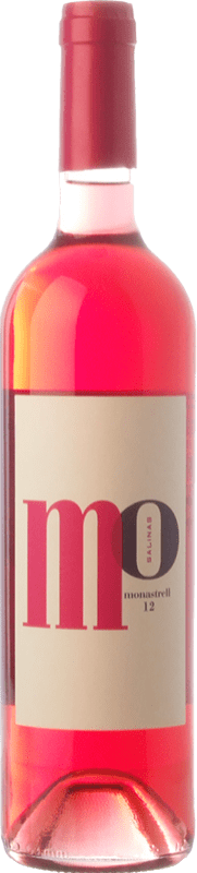 5,95 € Free Shipping | Rosé wine Sierra Salinas Mo Monastrell Rosé D.O. Alicante Valencian Community Spain Cabernet Sauvignon, Monastrell, Grenache Tintorera Bottle 75 cl