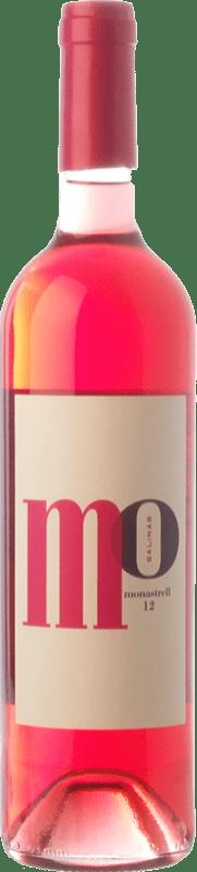 5,95 € Envoi gratuit | Vin rose Sierra Salinas Mo Monastrell Rosé D.O. Alicante Communauté valencienne Espagne Cabernet Sauvignon, Monastrell, Grenache Tintorera Bouteille 75 cl