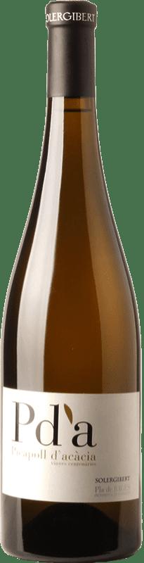 22,95 € | White wine Solergibert Pda Picapoll d'Acàcia Vinyes Centenàries Crianza D.O. Pla de Bages Catalonia Spain Picapoll Bottle 75 cl