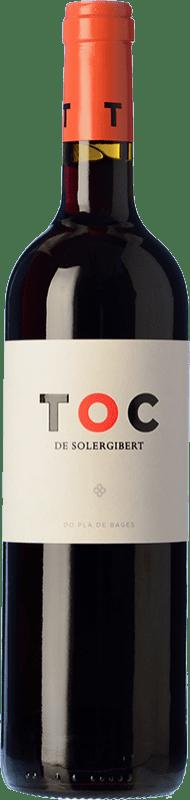 9,95 € | Red wine Solergibert Toc Crianza D.O. Pla de Bages Catalonia Spain Merlot, Cabernet Sauvignon Bottle 75 cl