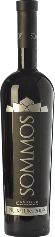 37,95 € | Red wine Sommos Premium Crianza D.O. Somontano Aragon Spain Tempranillo, Merlot, Syrah Bottle 75 cl