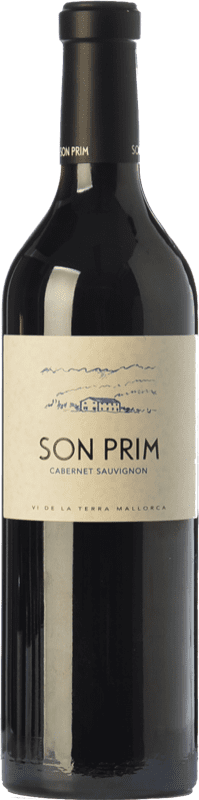 24,95 € | Red wine Son Prim Cabernet Crianza I.G.P. Vi de la Terra de Mallorca Balearic Islands Spain Cabernet Sauvignon Bottle 75 cl