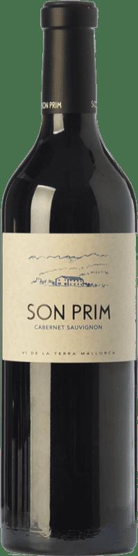 24,95 € Envoi gratuit | Vin rouge Son Prim Cabernet Crianza I.G.P. Vi de la Terra de Mallorca Îles Baléares Espagne Cabernet Sauvignon Bouteille 75 cl