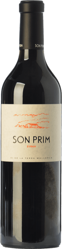 16,95 € | Red wine Son Prim Crianza I.G.P. Vi de la Terra de Mallorca Balearic Islands Spain Syrah Bottle 75 cl