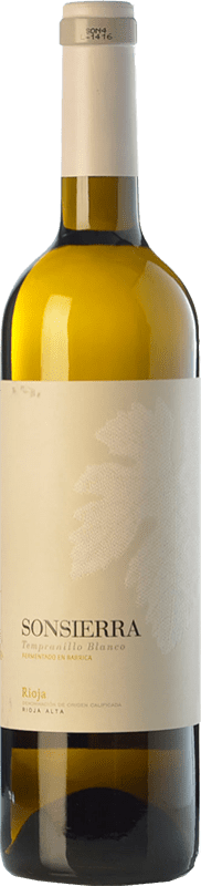 9,95 € | White wine Sonsierra Crianza D.O.Ca. Rioja The Rioja Spain Tempranillo White Bottle 75 cl