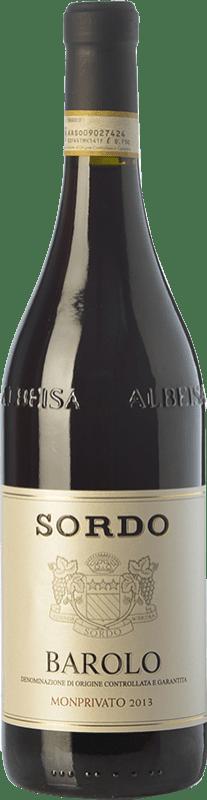 78,95 € 免费送货 | 红酒 Sordo Monprivato D.O.C.G. Barolo 皮埃蒙特 意大利 Nebbiolo 瓶子 75 cl