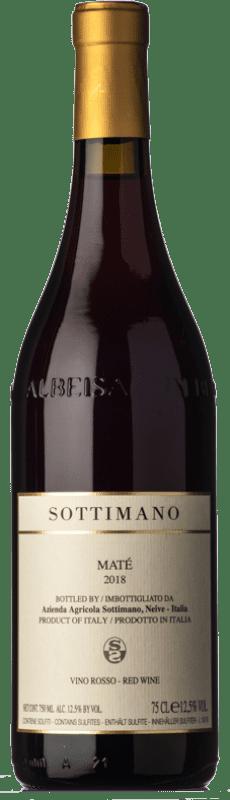14,95 € 免费送货 | 红酒 Sottimano Maté D.O.C. Langhe 皮埃蒙特 意大利 Brachetto 瓶子 75 cl