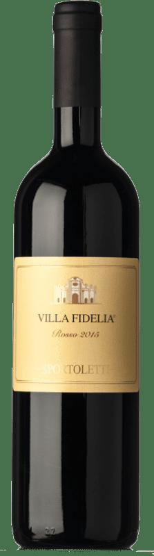 23,95 € | Red wine Sportoletti Villa Fidelia Rosso I.G.T. Umbria Umbria Italy Merlot, Cabernet Sauvignon, Cabernet Franc Bottle 75 cl