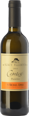 32,95 € | Sweet wine St. Michael-Eppan Sanct Valentin Comtess D.O.C. Alto Adige Trentino-Alto Adige Italy Sauvignon White, Gewürztraminer, Riesling Half Bottle 37 cl