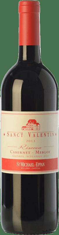 34,95 € | Red wine St. Michael-Eppan Sanct Valentin Riserva Reserva D.O.C. Alto Adige Trentino-Alto Adige Italy Merlot, Cabernet Sauvignon, Cabernet Franc Bottle 75 cl
