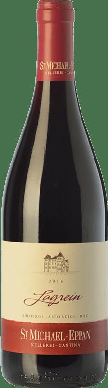 14,95 € Envío gratis | Vino tinto St. Michael-Eppan D.O.C. Alto Adige Trentino-Alto Adige Italia Lagrein Botella 75 cl