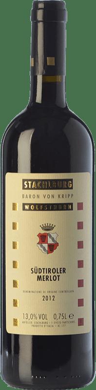 24,95 € Free Shipping | Red wine Stachlburg Riserva Reserva D.O.C. Alto Adige Trentino-Alto Adige Italy Merlot Bottle 75 cl