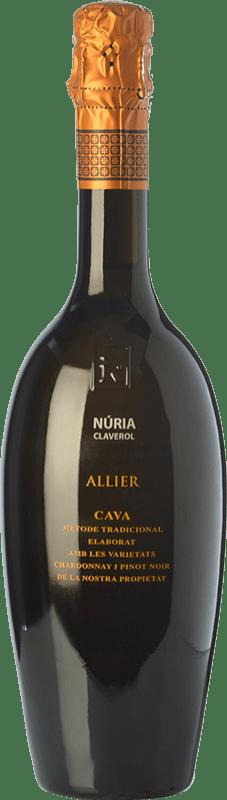 34,95 € Free Shipping | White sparkling Sumarroca Núria Claverol Allier Gran Reserva D.O. Cava Catalonia Spain Pinot Black, Chardonnay Bottle 75 cl