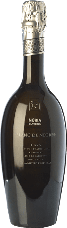 35,95 € Free Shipping | White sparkling Sumarroca Núria Claverol Gran Blanc de Negres Brut D.O. Cava Catalonia Spain Pinot Black Bottle 75 cl