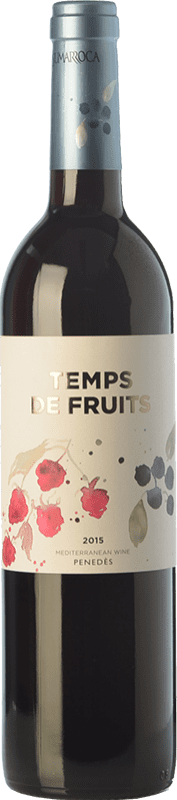 9,95 € | Red wine Sumarroca Temps de Fruits Joven D.O. Penedès Catalonia Spain Merlot, Syrah, Cabernet Franc, Carmenère Bottle 75 cl