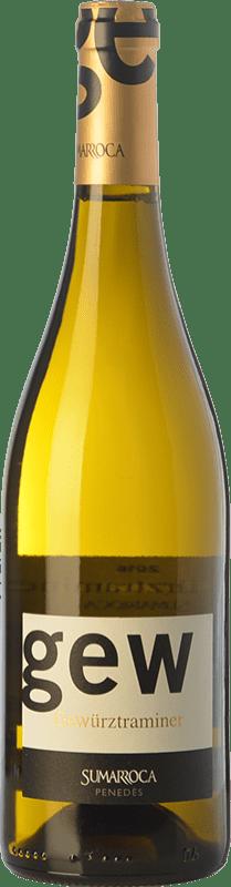 9,95 € Envío gratis | Vino blanco Sumarroca D.O. Penedès Cataluña España Gewürztraminer Botella 75 cl