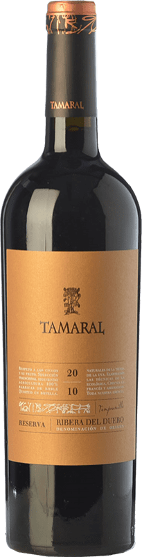 26,95 € | Red wine Tamaral Reserva D.O. Ribera del Duero Castilla y León Spain Tempranillo Bottle 75 cl