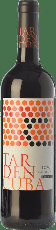 7,95 € Envío gratis | Vino tinto Tardencuba Roble D.O. Toro Castilla y León España Tinta de Toro Botella 75 cl