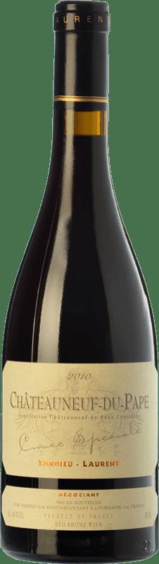 87,95 € Envoi gratuit | Vin rouge Tardieu-Laurent Cuvée Spéciale Reserva A.O.C. Châteauneuf-du-Pape Rhône France Grenache Bouteille 75 cl