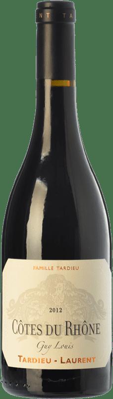 17,95 € | Red wine Tardieu-Laurent Guy Louis Crianza A.O.C. Côtes du Rhône Rhône France Syrah, Grenache Bottle 75 cl