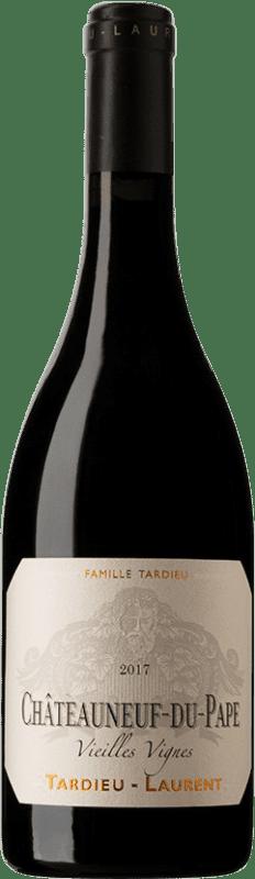87,95 € | Red wine Tardieu-Laurent Vieilles Vignes Reserva 2008 A.O.C. Châteauneuf-du-Pape Rhône France Syrah, Grenache, Mourvèdre Bottle 75 cl