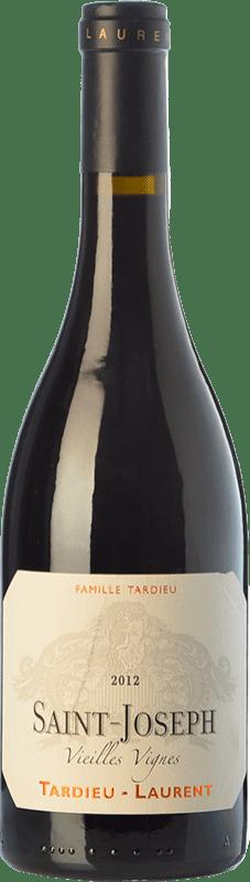 35,95 € | Red wine Tardieu-Laurent Vieilles Vignes Crianza A.O.C. Saint-Joseph Rhône France Syrah, Serine Bottle 75 cl