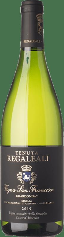 37,95 € 免费送货 | 白酒 Tasca d'Almerita I.G.T. Terre Siciliane 西西里岛 意大利 Chardonnay 瓶子 75 cl