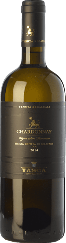 37,95 € | White wine Tasca d'Almerita I.G.T. Terre Siciliane Sicily Italy Chardonnay Bottle 75 cl
