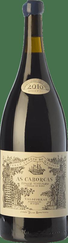 48,95 € Free Shipping | Red wine Telmo Rodríguez As Caborcas Crianza 2010 D.O. Valdeorras Galicia Spain Grenache, Mencía, Sousón, Godello, Merenzao Magnum Bottle 1,5 L