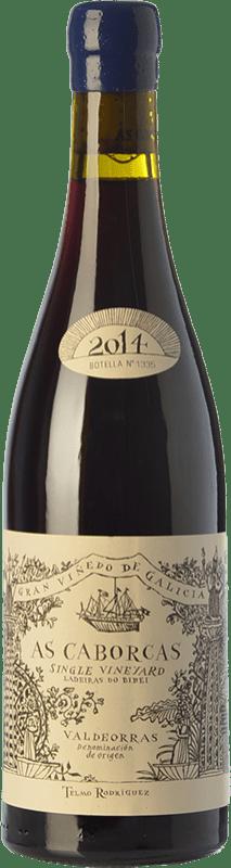 47,95 € Free Shipping | Red wine Telmo Rodríguez As Caborcas Crianza D.O. Valdeorras Galicia Spain Grenache, Mencía, Sousón, Godello, Merenzao Bottle 75 cl