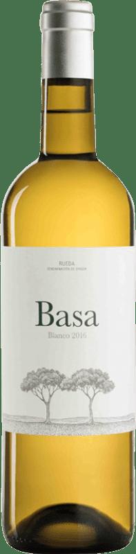 9,95 € Envío gratis | Vino blanco Telmo Rodríguez Basa D.O. Rueda Castilla y León España Viura, Verdejo, Sauvignon Blanca Botella 75 cl