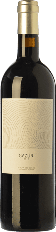 9,95 € Free Shipping | Red wine Telmo Rodríguez Gazur Joven D.O. Ribera del Duero Castilla y León Spain Tempranillo Bottle 75 cl