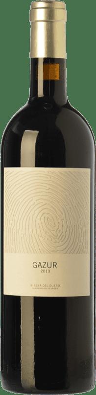 9,95 € Envoi gratuit | Vin rouge Telmo Rodríguez Gazur Joven D.O. Ribera del Duero Castille et Leon Espagne Tempranillo Bouteille 75 cl