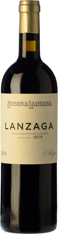 22,95 € Free Shipping | Red wine Telmo Rodríguez Lanzaga Crianza D.O.Ca. Rioja The Rioja Spain Tempranillo, Grenache, Graciano Bottle 75 cl