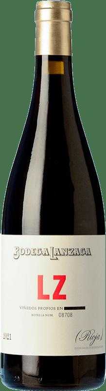 9,95 € Free Shipping | Red wine Telmo Rodríguez LZ Joven D.O.Ca. Rioja The Rioja Spain Tempranillo Bottle 75 cl