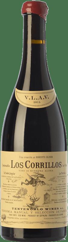37,95 € Envío gratis | Vino tinto Tentenublo Los Corrillos Crianza D.O.Ca. Rioja La Rioja España Tempranillo, Garnacha, Graciano Botella 75 cl