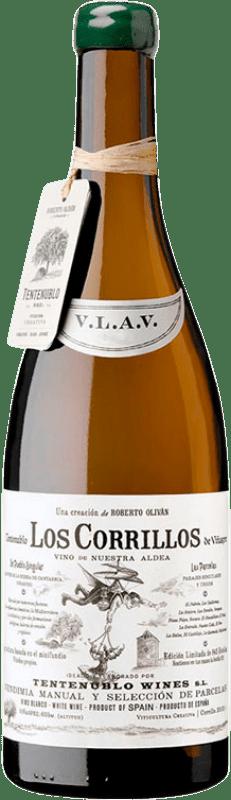 46,95 € Envío gratis | Vino blanco Tentenublo Los Corrillos Crianza D.O.Ca. Rioja La Rioja España Viura, Malvasía, Jaén Botella 75 cl