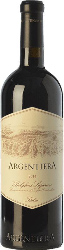 99,95 € Free Shipping | Red wine Tenuta Argentiera Superiore D.O.C. Bolgheri Tuscany Italy Merlot, Cabernet Sauvignon, Cabernet Franc Bottle 75 cl