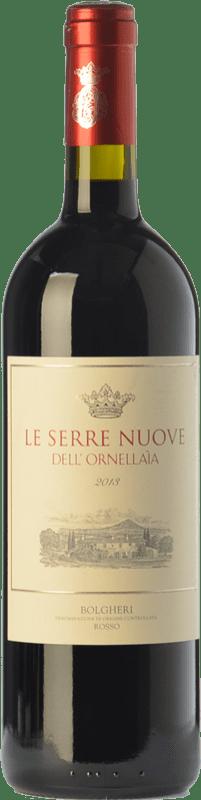59,95 € 免费送货 | 红酒 Ornellaia Le Serre Nuove D.O.C. Bolgheri 托斯卡纳 意大利 Merlot, Cabernet Sauvignon, Cabernet Franc, Petit Verdot 瓶子 75 cl