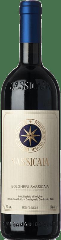 346,95 € Envoi gratuit | Vin rouge San Guido Sassicaia D.O.C. Bolgheri Toscane Italie Cabernet Sauvignon, Cabernet Franc Bouteille 75 cl