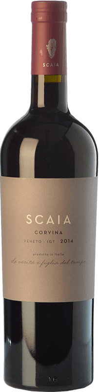 12,95 € 免费送货 | 红酒 Tenuta Sant'Antonio Scaia I.G.T. Veneto 威尼托 意大利 Corvina 瓶子 75 cl