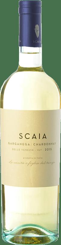 12,95 € Envío gratis | Vino blanco Tenuta Sant'Antonio Scaia I.G.T. Veneto Veneto Italia Chardonnay, Garganega Botella 75 cl