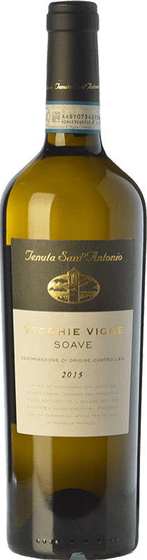 14,95 € Envoi gratuit | Vin blanc Tenuta Sant'Antonio Vecchie Vigne D.O.C. Soave Vénétie Italie Garganega Bouteille 75 cl