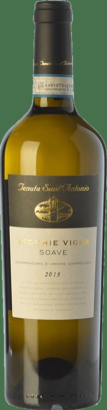 14,95 € Free Shipping | White wine Tenuta Sant'Antonio Vecchie Vigne D.O.C. Soave Veneto Italy Garganega Bottle 75 cl