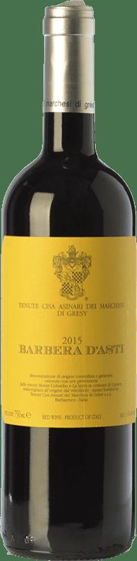 11,95 € | Red wine Cisa Asinari Marchesi di Grésy D.O.C. Barbera d'Asti Piemonte Italy Barbera Bottle 75 cl